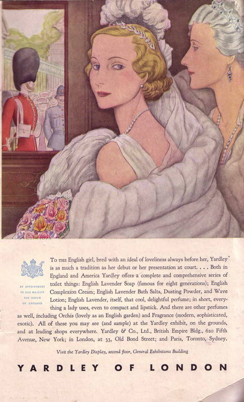 Expo Chicago 1933 - Advertisement - Yardley of London