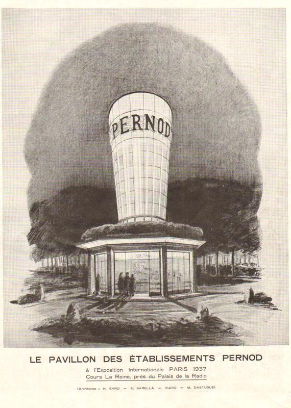 Expo Paris 1937 - Publicté - Pernod