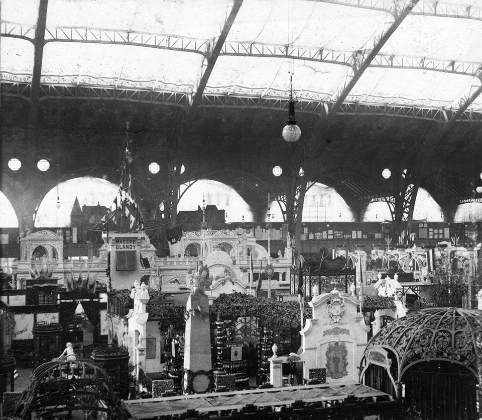 Expo Paris 1900 - Photo - PAlais de l Alimentation - Intérieur