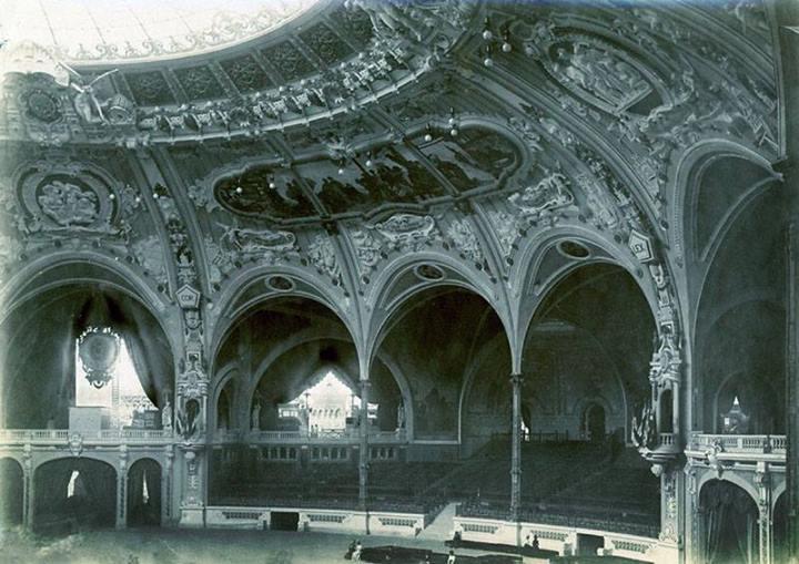 Expo Paris 1900 - Photo - Salle des Fêtes