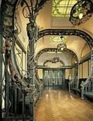 Expo Paris 1900 - Vestige - Salle des raisins - Traubensaal du palais consacré aux vins allemands