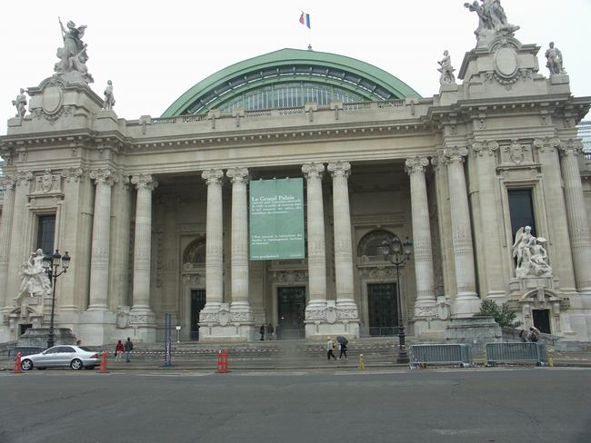 Expo Paris 1900 - Vestige - Grand Palais