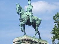 Statue équestre de Guillaume Ier roi de Prusse