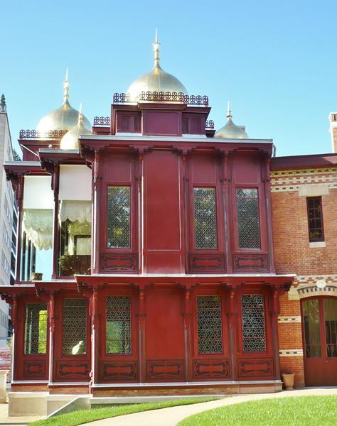 Le Pavillon des Indes Anglaises - Parc du Bécon à Courbevoie