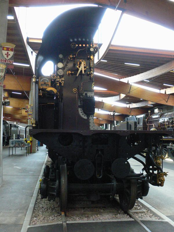Expo Paris 1937 - Vestige - locomotive 3.1102 Nord