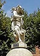 vestiges de l exposition de 1878 à Paris - Statue Amphitrite