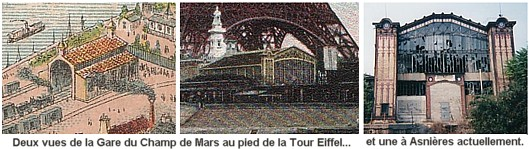 vestiges de l exposition de 1878 à Paris - Embarcadère du Champ de Mars