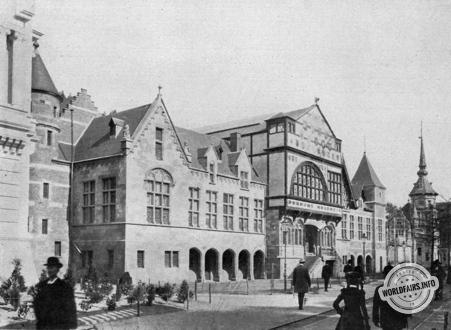 Liege 1905 Palais De L Art Ancien Parc De La Boverie