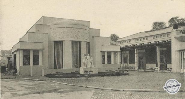paris 1925 h tel du collectionneur ruhlmann pavillons de l 39 esplanade des invalides. Black Bedroom Furniture Sets. Home Design Ideas