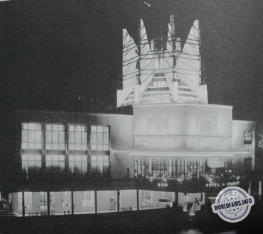 Gaz à l'exposition de Paris 1937