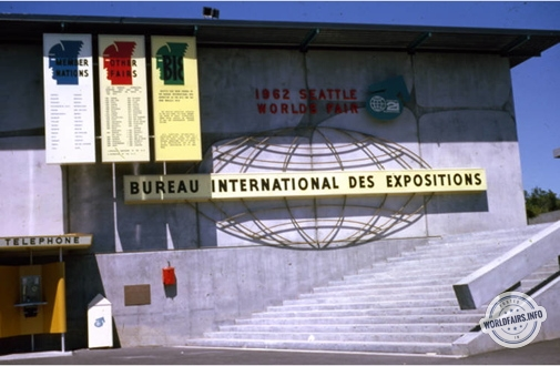 Bureau International des Expositions (BIE) à l'exposition de Seattle 1962